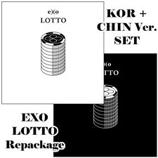 [SET] EXO - LOTTO (3rd Album REPACKAGE) [CD+Photobook+Photocard...] *Gift