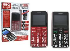 Big Digit Mobile Phone Large Buttons SOS Button Unlocked Senior Citizen Gifts BN