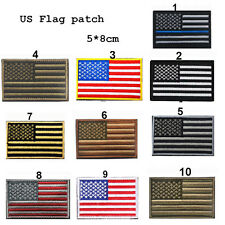 POP US Flag Armband Embroidered Patch Patriotic USA Military Patch Sewing Flag
