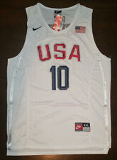 Team USA Kobe Bryant # 10 Men's Jersey White Home