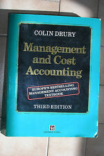 Management and Cost Accounting Book :Third Edition :  Colin Drury