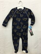 St. Louis Rams Team Apparel NFL Infant All-Over Logo Footed Pajamas