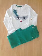 NWT Gymboree Wild for Horses Mardi Gras Tee Shirt Top Ponte Pants Set 2pc SZ 8
