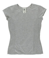 Converse Womens Scoop Neck T-Shirt Grey