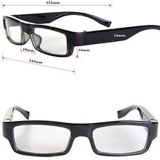 PROFESSIONAL SPY GLASSES FULL HD VIDEO CAMERA RECORDER WITH SOUND 720p 5MP CMOS