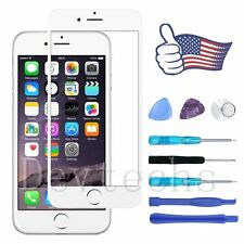 White Replacement Front Outer Screen Glass Lens for Apple iPhone 6 Plus Tool Kit