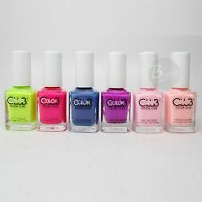 Color Club Nail Polish Poptastic Pastel Neon Collection N27-N32 2015 Summer Hot