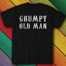 Grumpy Old Man - T-Shirt - Gift for Grandad or Dad on Fathers Day