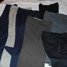 mens bottoms waist 38x inseam 32 pants lot of 7 pair dress pants ECU
