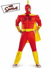Men's The Simpsons Radioactive Man Classic Muscle Costume