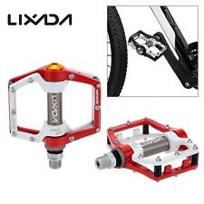 "CYCLING MOUNTAIN MTB/BMX BIKE BICYCLE ALUMINUM PLATFORM PEDALS PEDAL9/16"" J9O2"