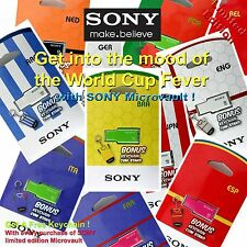 SONY Micro vault 8GB 16GB 32GB USB DRIVE World CUP soccer 8G 16G 32G KEY ring