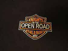 KNIGHTS OF THE OPEN ROAD Long Sleeve TShirt XL Peaks & Passes 2010 KOTOR