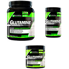NUTRAKEY GLUTAMINE POWDER UNFLAVORED LEAN MUSCLE RECOVERY - 300/500/1000 GRAMS
