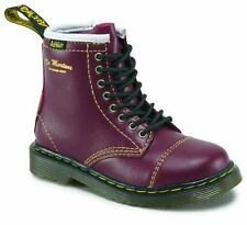 Dr Martens Kids Shoes 8-Hole BUSTER CHERRY RED 16206601 Original Doc