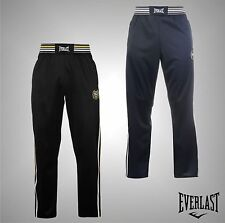 New Mens Everlast Fleece Lined Classic Track Pants Tracksuit Bottoms Size S-XXL