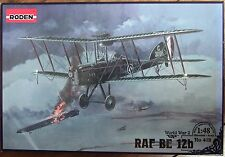 RODEN 1/48 RAF BE12b WWI plastic model fighter aircraft kit *NEW*