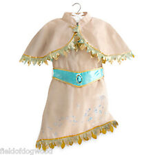 NWT DISNEY STORE INDIAN PRINCESS POCAHONTAS DRESS COSTUME Gown Many Sizes