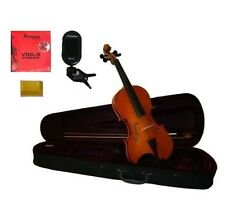 "New Student Viola,Case,Bow+Extra Set Strings+Rosin+Tuner 16""15""14""13""12""11""10"""