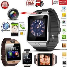 HD Bluetooth DZ09 Smart Watch For Android HTC Samsung iPhone iOS Camera SIM Slot