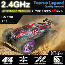 1:12 Radio Control RC Car 4WD Off Road Truggy Land Buster 2.4GHz Professional
