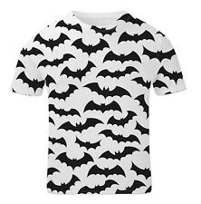 Bats All Over Print Animal Scary Halloween Fun Girls Unisex Kids Child T Shirt