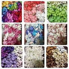 100 Artificial Mulberry Paper flowers Petal Handmade Scrap-booking 20 mm. #CA
