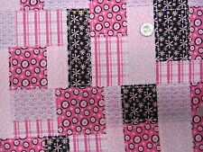 PINKS / PATCHWORK--- SCRUB HAT/ MEDICAL/SURGICAL-YOUR CHOICE IN STYLE