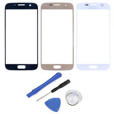 Screen Outer Lens Glass Cover +Tools for Samsung Galaxy Note 2 3 4 5 S4 S5 S6 S7
