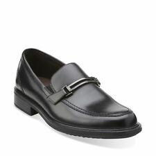 Bostonian Mens shoes Bardwell Bit Black Leather Slip On Casual Dressy 26107542