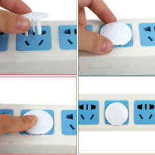 Useful 24x Electric Outlet Covers Socket 2 or 3 Plug Kids Baby Safety Protector