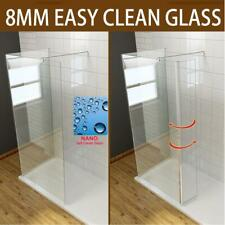 Walk In Shower Enclosure Glass Screen Cubicle Flipper Panel And Tray Waste