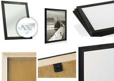 Black Wooden Picture Photo Frame Natural Scandinavian Pine Wood