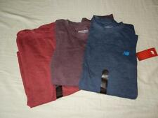 New Men's New Balance Thermal Shirts - 3 Colors - Red, Blue, Purple