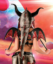 HOT STUFF DRAGON Costume J Valentine Wings only NEW Halloween Sexy! Game Thrones