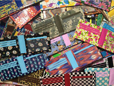 You Pick Handmade Duck Duct Tape Wallet! (3 Card Pockets & ID) Patterns & Colors