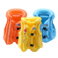 Inflatable Baby Kids Swimsuit Children Life Jacket Swimming Safety Vest
