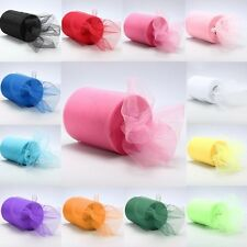 "6""x 25yd Tulle Roll Spool Tutu Wedding Party Gift Fabric Craft Decoration"