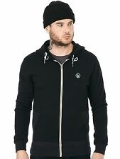 Volcom Black Backronym Zip Hoody