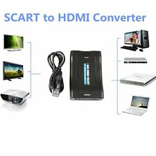 1080P Scart To HDMI MHL Converter Audio Video Adapter For HD TV DVD Box Y5