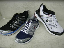 Mens K-Swiss Blade-Light Run Blue, Black Or White Lace Up Sports Trainers