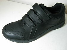 Clarks Bootleg Air Suffolk BL Black Leather School Shoes