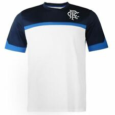 Glasgow Rangers FC Core Polyester T-Shirt Mens Football Soccer Top Team Mesh