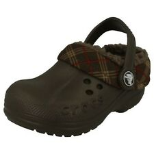 Childrens Unisex Crocs 'Blitzen Winter Plaid Kids'