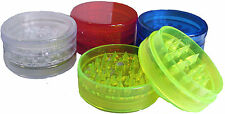 NEW HERB GRINDER - Plastic Herb Grinder/Sifter 60mm 3pc - Muller Crusher