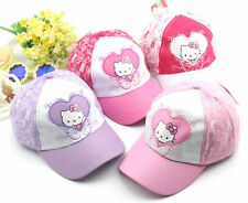 New Hellokitty Girl kid Cap Hat LM5627 For year 3 -8