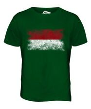 INDONESIA DISTRESSED FLAG MENS T-SHIRT TOP INDONESIAN SHIRT FOOTBALL JERSEY GIFT