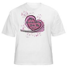 My Airedale Terrier Stole My Heart Dog Lover T-Shirt - Sizes Small through 5XL
