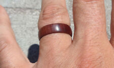 Ring Size 8 US,Manzanita Burl Band Ring