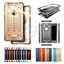 For iPhone & Samsung S7 Luxury Shockproof Aluminum Metal Bumper Frame Case Cover